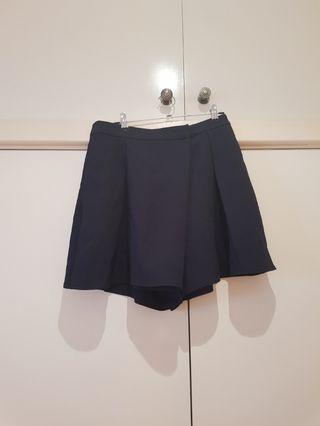 SABA Navy Fold Over Skirt Size S/8