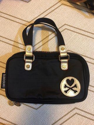 Tokidoki Bacio Black Gold Mini Bag Wallet