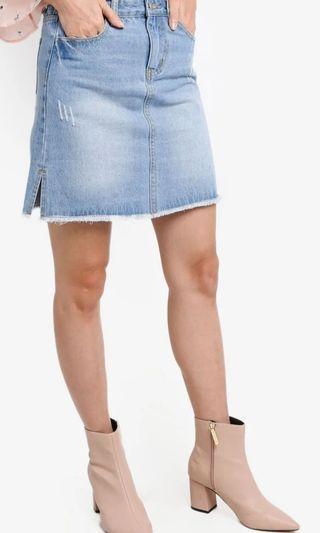 [日本] Denim Skirt 100% 新
