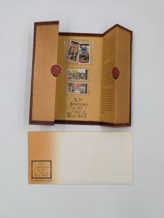 [珍貴]1995年新加坡50周年二次世界大戰紀念票。