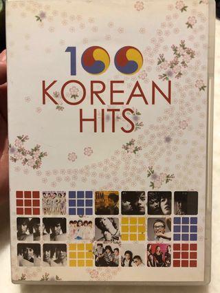 CD : 100 Korean Hits (5cd)