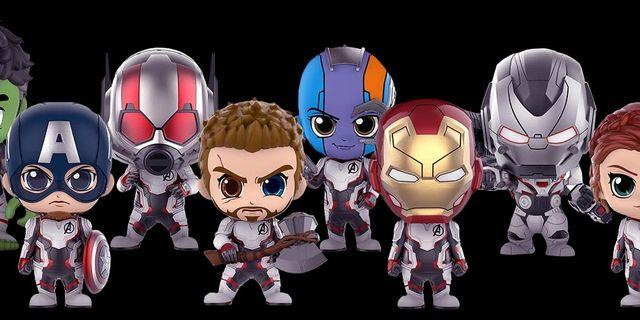 Avengers Cosbaby Team suit
