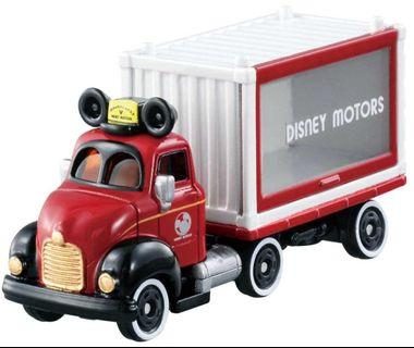 🚚 Preowned Tomica Disney Motors DM-14 Dream Carry by TOMY, die-cast cars included