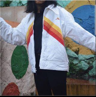 vintage white BMF jacket