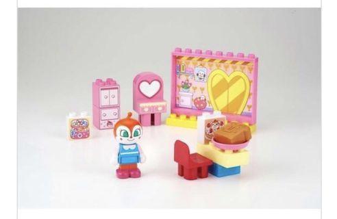 Anpanman toy 麵包超人红精靈玩具