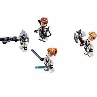 包平郵 全新 LEGO 76126 Minifigures 4隻人仔 (Rocket + Hawkeye + Black Widow + Thor)