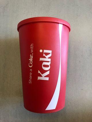 "Coke ""Kaki"" cup"