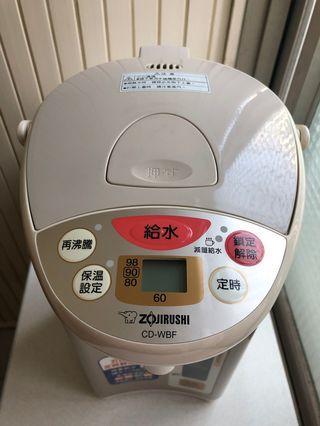 (二手良品) ZOJIRUSHI 象印 4L 熱水瓶 CD-WBF40 4公升