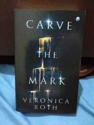 """Novel """"CARVE THE MARK"""", by Veronica Roth"""
