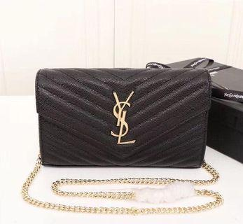 *PREORDER* 1:1 mirror quality YSL wallet on a chain dupe