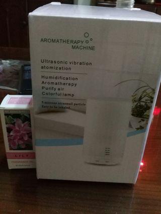 香薰加濕器 水氧機 (贈送精油×1)
