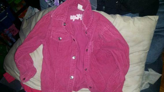 Girl jacket and pants
