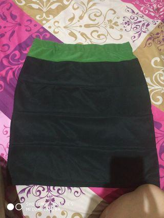 Black skirt two color