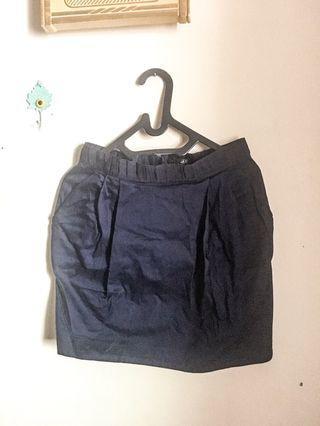 Navy Skirt / Rok Biru tua