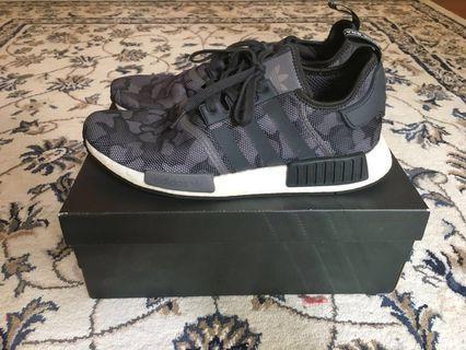 Sepatu Adidas NMD R1 Duck Camo Grey Black