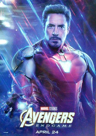 Ironman Poster Endgame 海報 Iron man Marvel