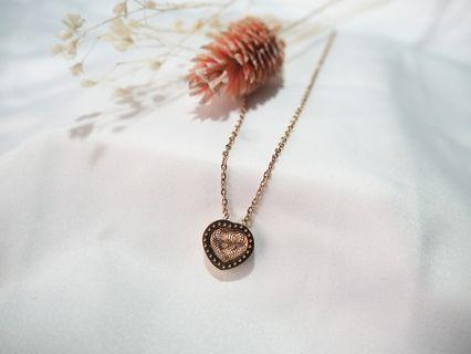 Stainless Steel Rose Gold Necklace