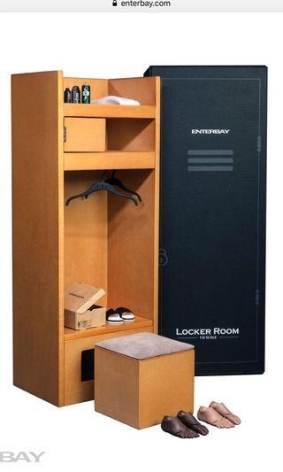 全新 Enterbay 1/6 NBA Locker Room