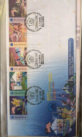 Year 2000 first day cover
