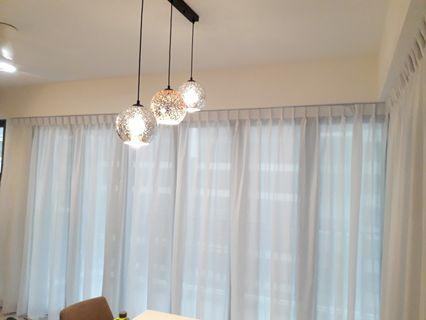 90% Dimout night curtains, privacy Turkey day curtains