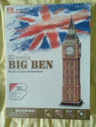 BIG BEN 3D拼圖