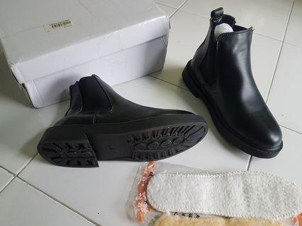 Lady new boot shoe size 24 cm