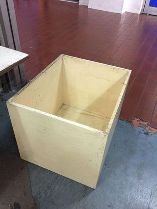 Empty wooden box (Kotak Kayu)