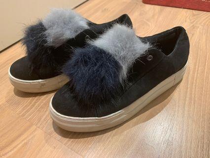 French Connection Pom Pom Slip on sneaker size 37