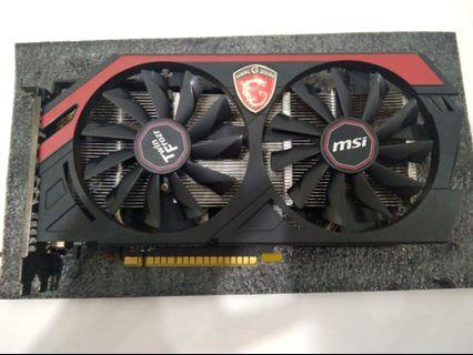 MSI GTX 750Ti TwinForzr 2GB DDR5 128bit dx12 OC