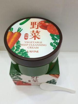 清貨🈹| LAFINE野菜深層潔面霜 Vegetable Deep Cleansing Cream 200ML