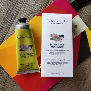 Authentic Crabtree & Evelyn London Somerset Meadow Hand Therapy