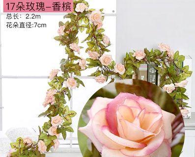 結婚用品-裝飾佈置用花串