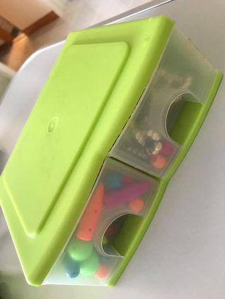 飾物材料連小櫃筒
