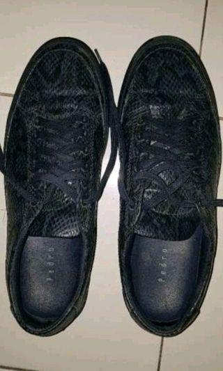 For Sale Pedro Sneaker model crocodile leather navy blue