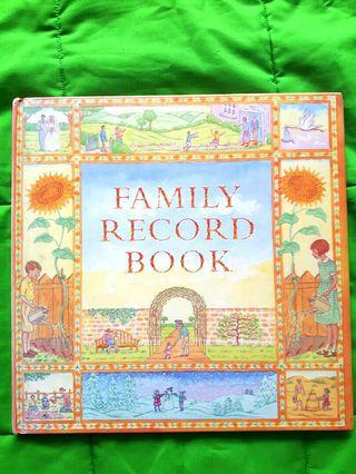 🚚 Family record book