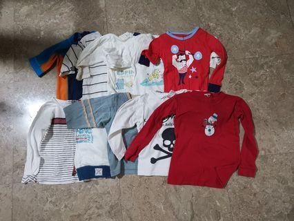 50pc Boy Clothes 12-18m