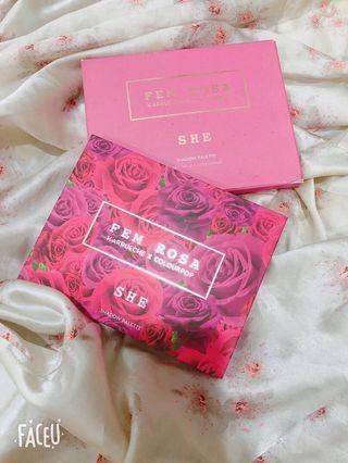 Colourpop Fem Rosa Karreuche eyeshadow palette