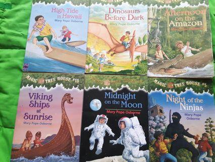 🚚 Magic Tree House set