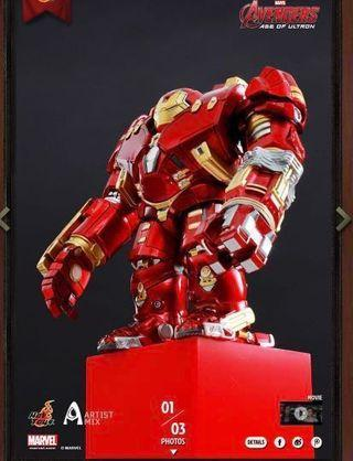 Hottoys Hulkbuster Artist Mix Jackhammer Arm 有盒 全新