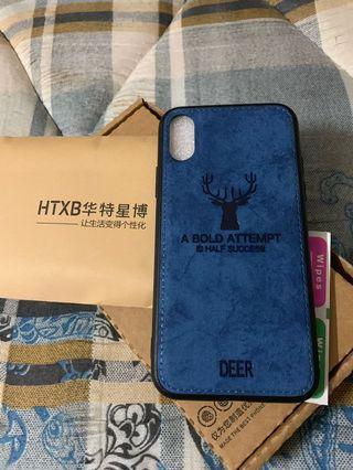 iphone x藍色手機殼