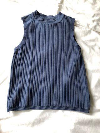 🚚 Knit top (Navy)