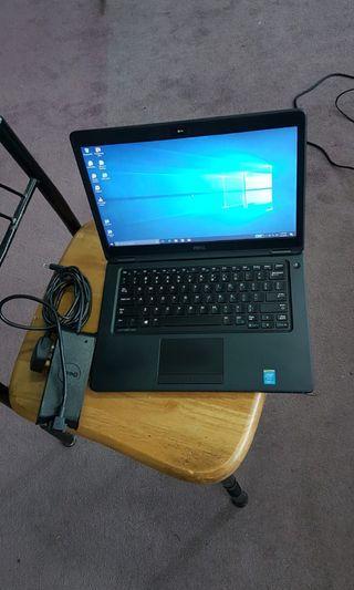 🚚 Dell e5450 core i5-5200u 2.20ghz 8GB RAM 256GB SSD Camera Adaptor 430$