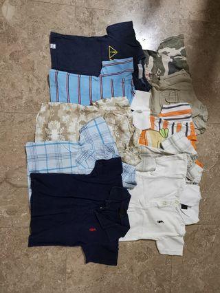 50pc Baby boy clothes 6-12m