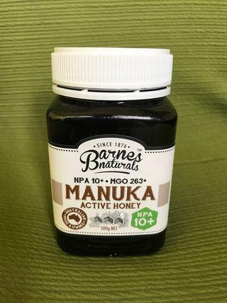 Manuka Honey (Barnes Naturals) (NPA 10+)