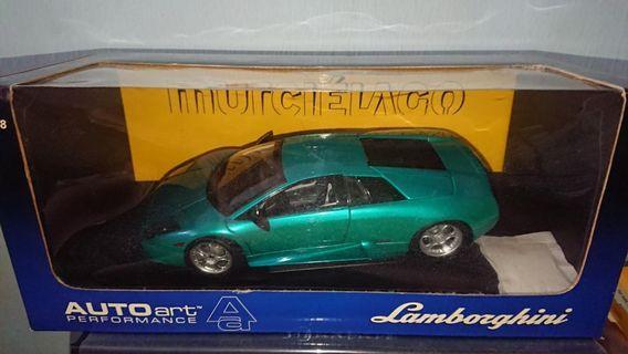 1/18 Autoart Custom Lamborghini murcielago 40th anniversary