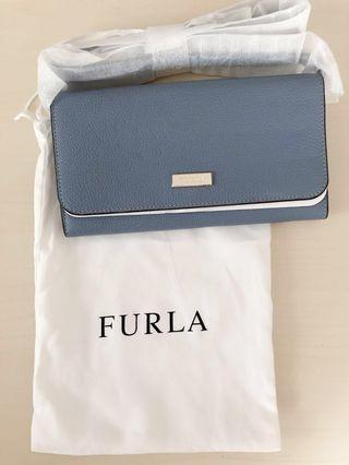Furla wallet with should strap