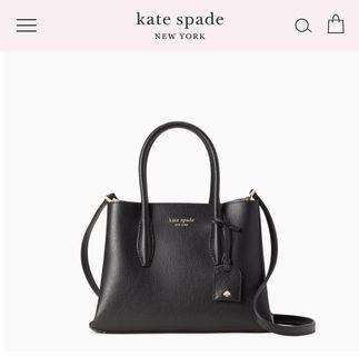 (Arriving soon!) Kate Spade Small Eva in Black Leather