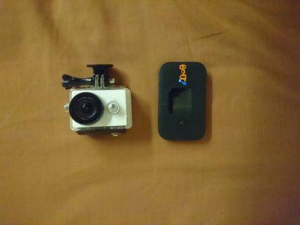 BOLT PAKET WIFI XIOAMI yi action camera
