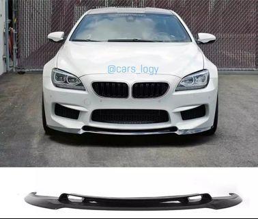 🚚 BMW M6 Performance Kit Front Lip (Carbon Fiber/Glossy Black PP)