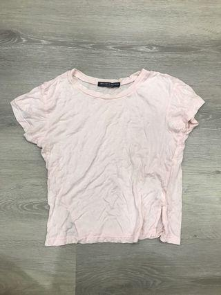 🚚 Brandy Melville Blush Pink Mason Top